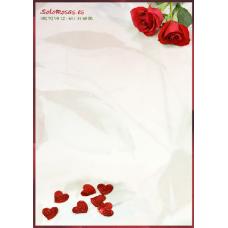 Tarjeta Amor Corazones